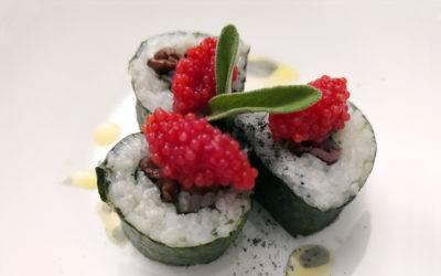 Sushi Febo aromatizzato allo zenzero