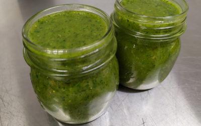 Pesto alle erbe aromatizzato al tartufo